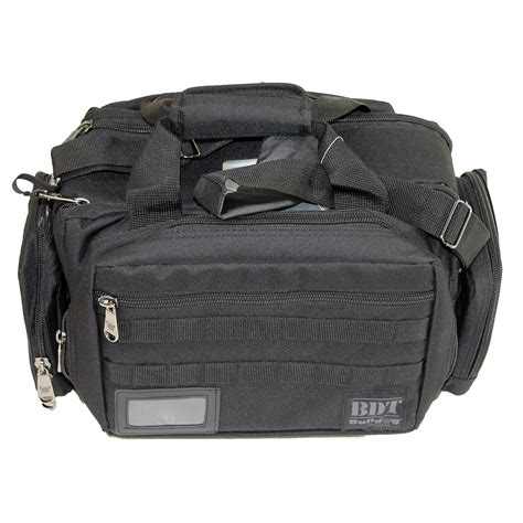 bulldog cases x large molle tactical range bag black bdt930b
