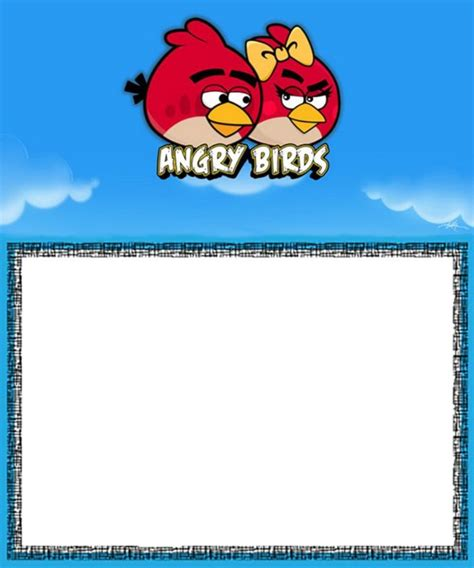 angry birds birthday invitation template free 9 free printable templates angry birds invitations for