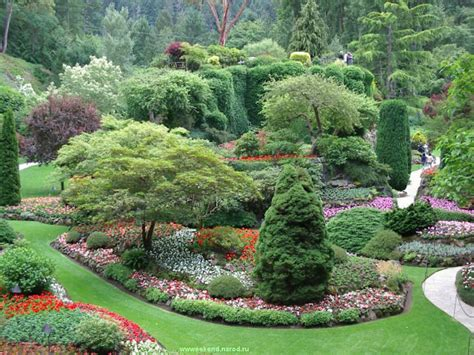 butchart gardens vancouve wallpapers for your computer nature canada bc