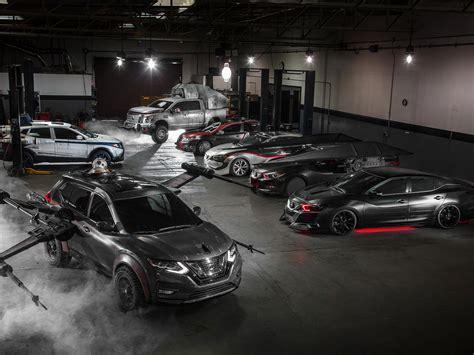 Star Wars Auto by Nissan Star Wars Concept Cars Autoguru At