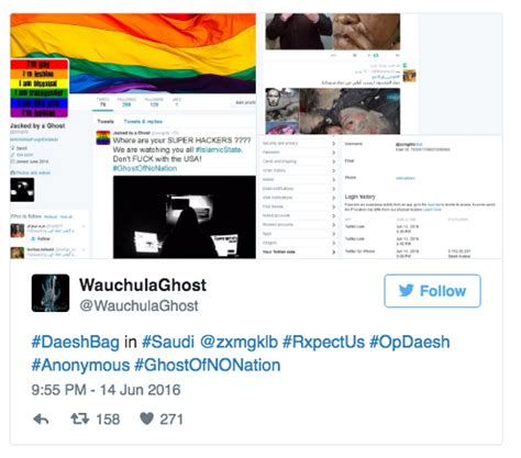 anonymous tutorial hack isis anonymous hacks isis twitter accounts with gay pride
