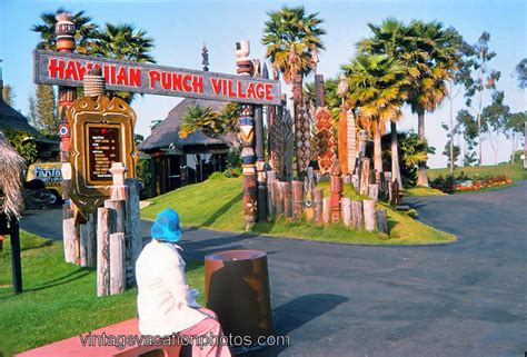 click on the above image for a larger view of our blue vintage vacation photos hawaiian punch village sea world