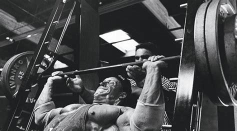 dorian yates bench press dorian yates workout routine diet plan and training