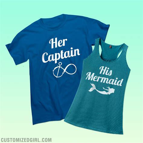 Where Can I Get Matching Shirts His Mermaid Shirts