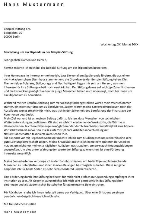 Deutschland Stipendium Bewerbung Motivationsschreiben Motivationsschreiben Einer Stipendien Bewerbung
