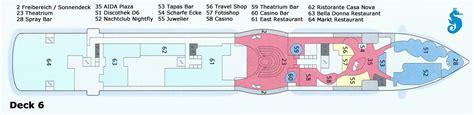 deckplan prima aktueller deckplan der aidaprima