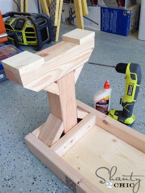 diy benches for my dining table shanty 2 chic