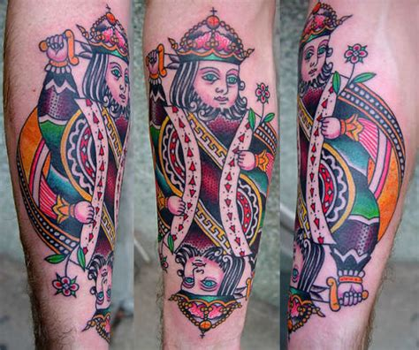 suicide king tattoo collection of 25 king design