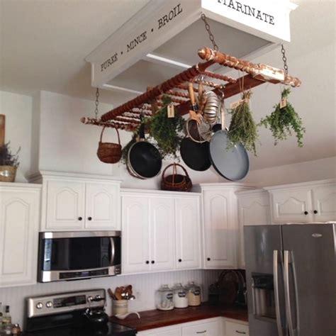 kitchen pot rack ideas creative pot rack ideas to your kitchen unique