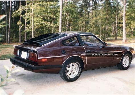 datsun 280z 1983 1983 datsun 280z t tops burgandy 2door