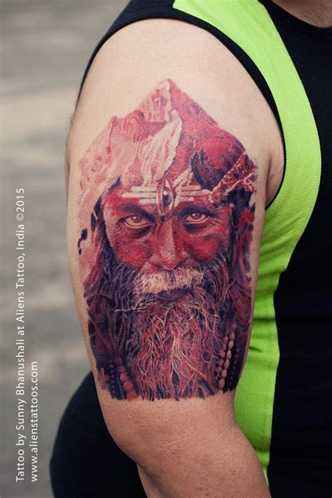 blind faith tattoo aghori by bhanushali at aliens india