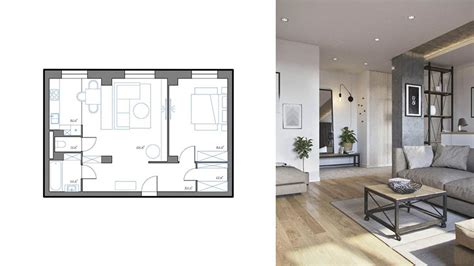 Pianta Casa 70 Mq by Come Arredare Una Casa Di 70 Mq Ecco 3 Progetti
