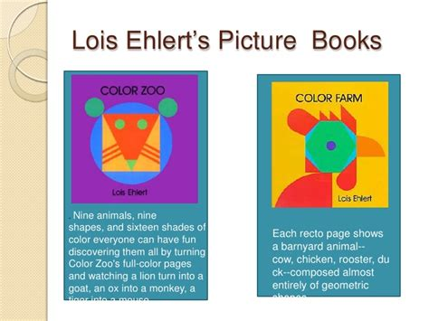 color zoo lois ehlert presentation