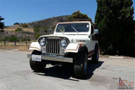 jeep cj laredo 1984 jeep cj 7 laredo