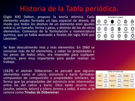 historia de la tabla periodica quimica gral historia de la tabla peri 243 dica