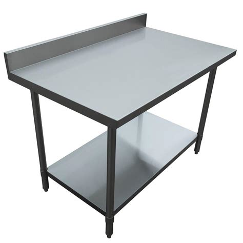 kitchen utility table excalibur stainless steel kitchen utility table with