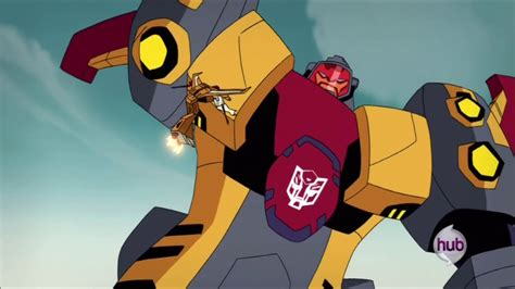 omega supreme transformers animated omega supreme vs decepticons