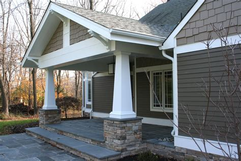 Porch Columns With Stone