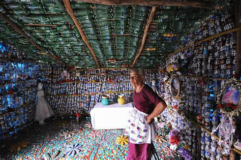 House Made Out Of Plastic Bottles