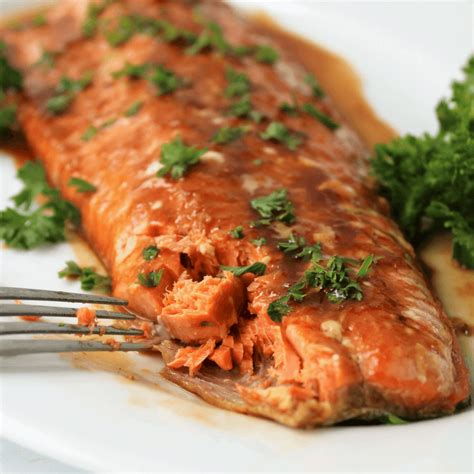 Spicy Skin Salmon 5ptg sweet n spicy baked salmon