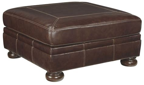 ottoman oversized banner coffee oversized accent ottoman from ashley