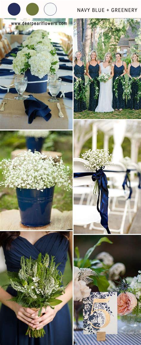 top  navy blue wedding color combo ideas   deer
