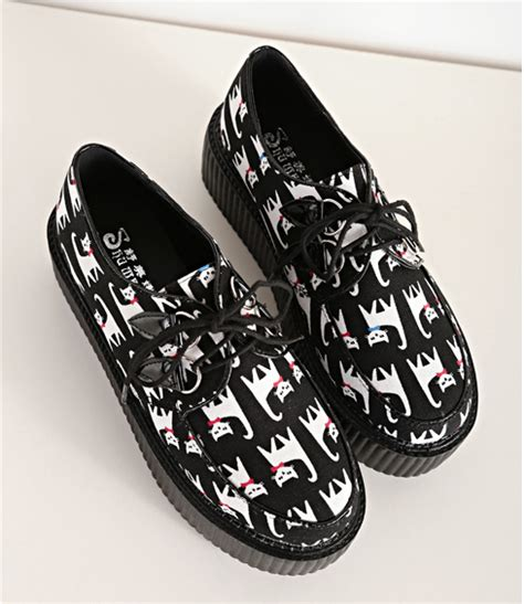 harajuku shoes japanese cat harajuku shoes 183 kawaii harajuku
