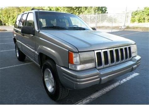 Jeep Grand Trims Sell Used Jeep Grand Laredo Southern Owned Tinted