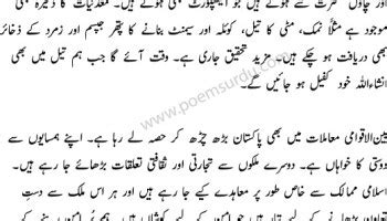 Azadi Aik Naimat Essay In Urdu by Essay On 6 September 1965