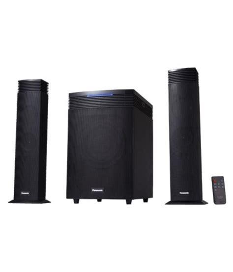panasonic sc ht21gw k 2 1 bluetooth speakers black