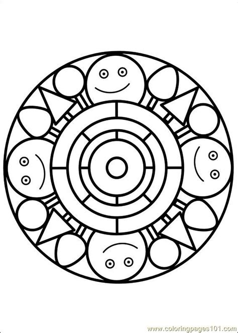 rainbow mandala coloring pages free coloring pages of rainbow do a dot