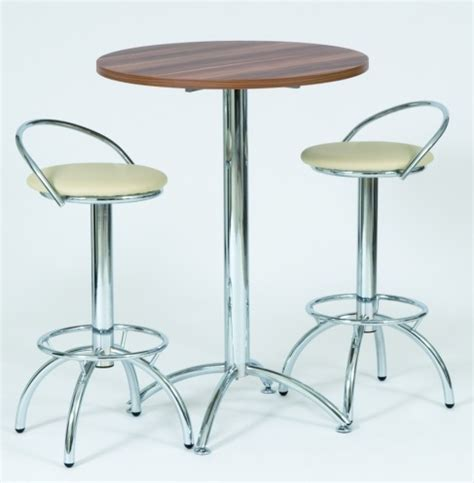 Table And Stools by Mara High Bar Table With Two Lara Stools