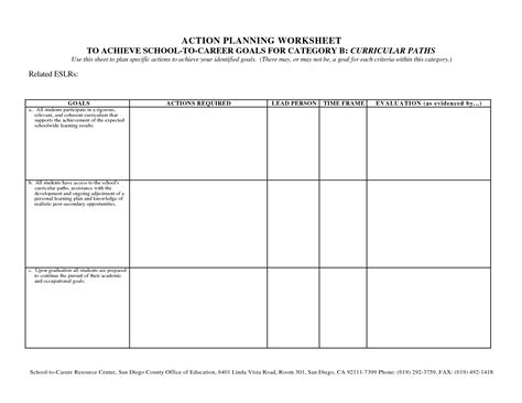 goal planning worksheet 14 best images of goal planning worksheet couples goal