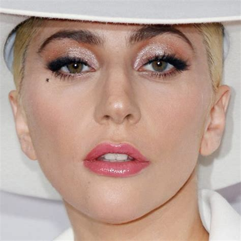 gaga eye color gaga makeup black eyeshadow silver eyeshadow pink