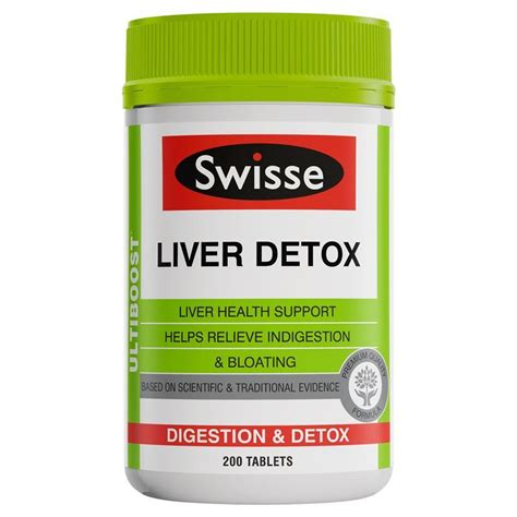 Swisse Ultiboost Liver Detox 200 Tablets buy swisse ultiboost liver detox 200 tablets at