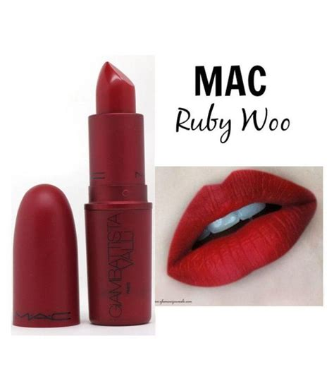 Lipstick Mac Ruby Woo mac lipstick ruby woo 3 gm available at snapdeal for rs 453