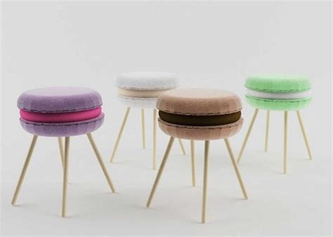 gli sgabelli food design gli sgabelli a forma di macaron lili madeleine