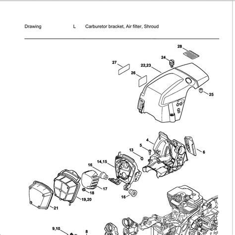 stihl ms 361 parts diagram stihl ms 20 wiring diagrams repair wiring scheme