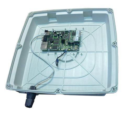 itelite ghz  dbi panel enclosure antenna solution designed  mikrotik routerboard