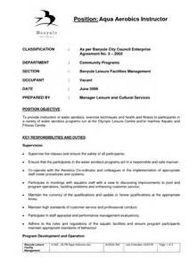 fitness instructor resume sle teachers resume sales lewesmr