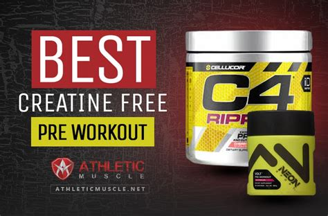 best pre workout best creatine free pre workout athletic muscle