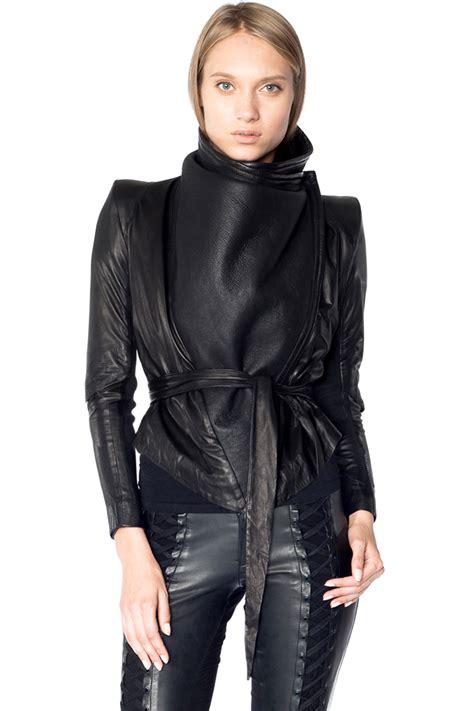 draped shearling jacket skingraft shop draped shearling jacket