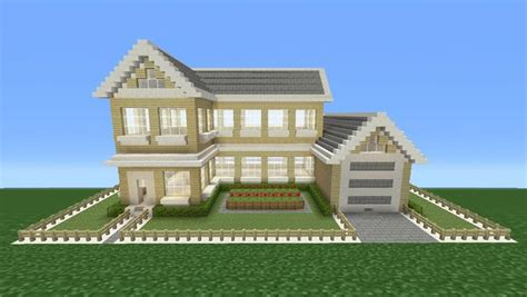 How To Make A House A Home | minecraft tutorial how to make a suburban house 4