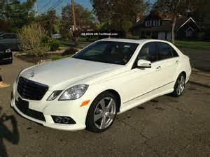 Mercedes 4matic E350 2010 Mercedes E350 4matic Sedan 4 Door 3 5l