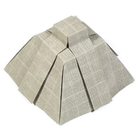How To Make A Temple Out Of Paper - how to make an aztec origami pyramid page 14