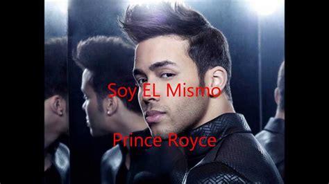 prince royce testi prince royce soy el mismo karaoke testo audio 2014