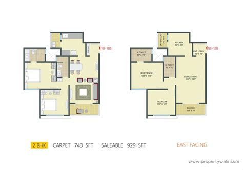 2 bhk plan 1 bhk east facing vastu home plan joy studio design