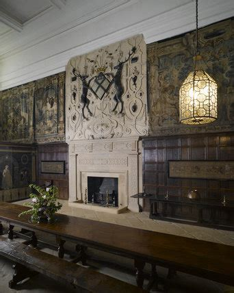 Home Interiors Paintings the great hall or entrance hall at hardwick hall