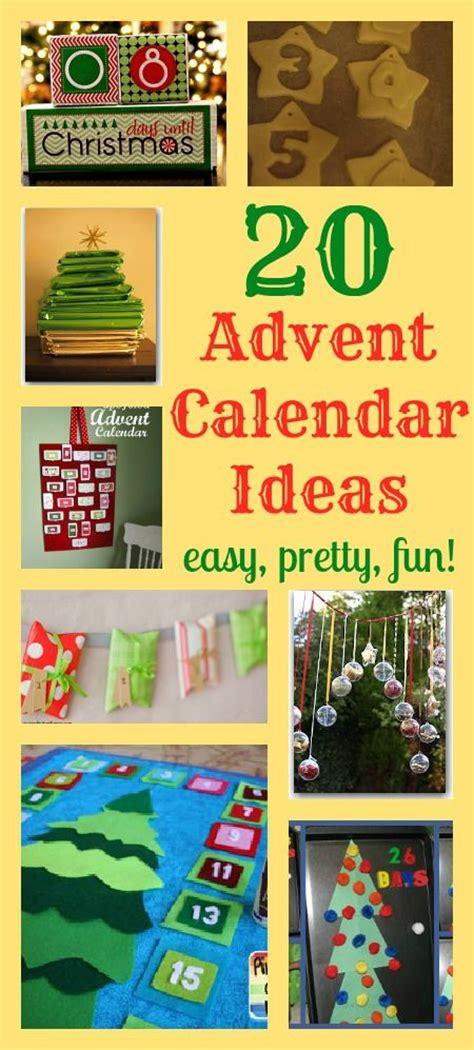 all diy crafts humor 20 great advent calendar ideas diy advents calendars