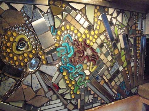 Funky Mosaic Backsplash   Eclectic   Kitchen   Other